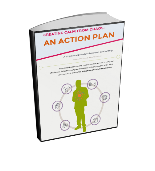 Six Point Action Plan Goal Workbook